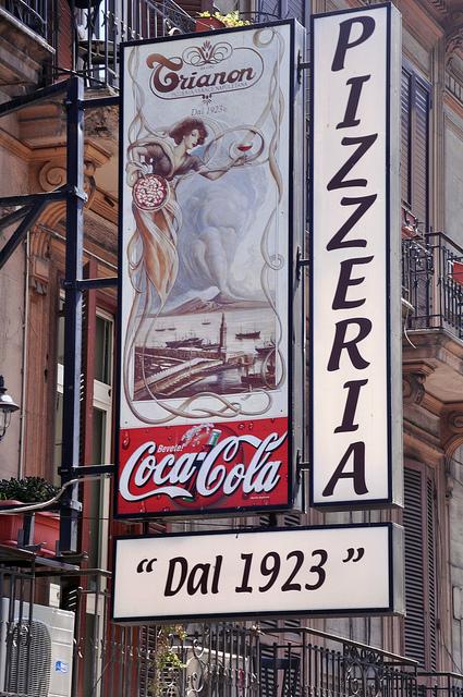 Pizzeria Trianon da Ciro Naples Italy