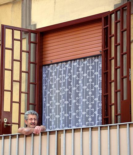 Neapolitan on his Terrace