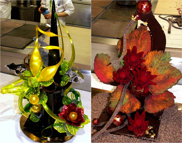 Sugar and Chocolate Showpieces