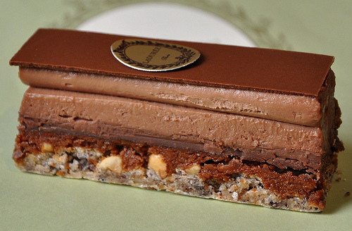 Chocolate Pastry from LaDuree