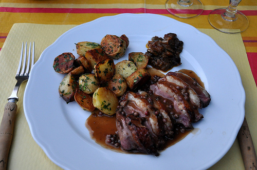 Magret de Canard - Duck Breast in Dordogne