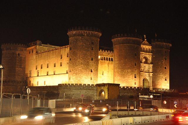 Castel Nuovo at Night
