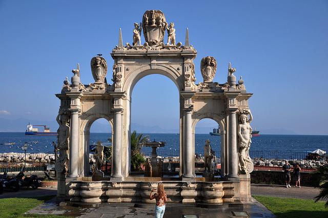 Santa Lucia area in Naples