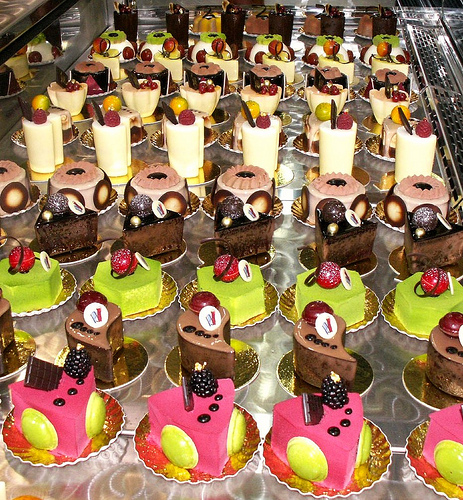 Pastry Case at Sihra