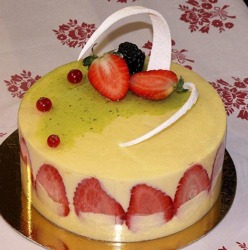 Strawberry Fraisier