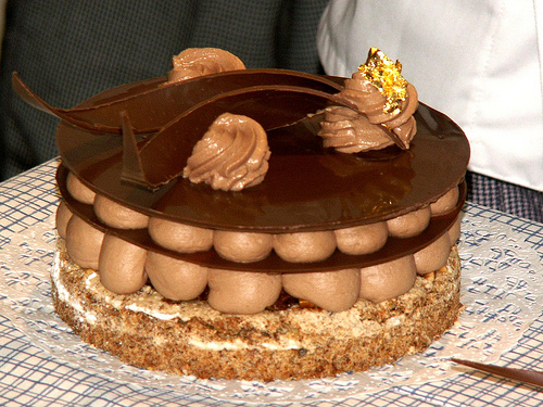 Heavenly Chocolate pastry
