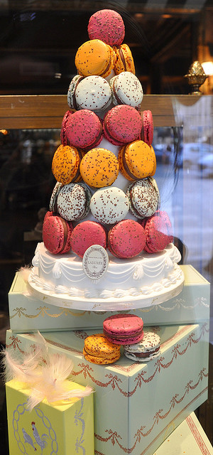 Macaron Tower at LaDuree