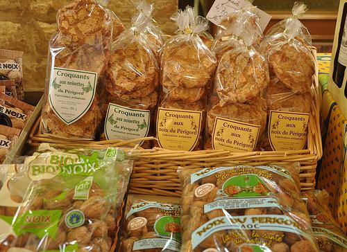 Walnut and Hazelnut Croquant Cookies