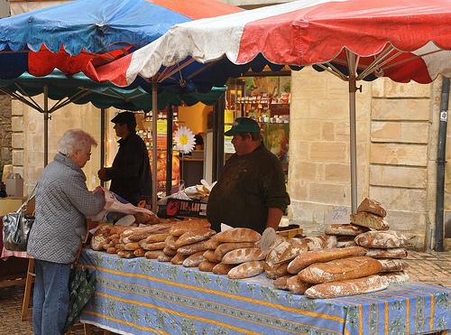 Bread Baker at Sarlat Market