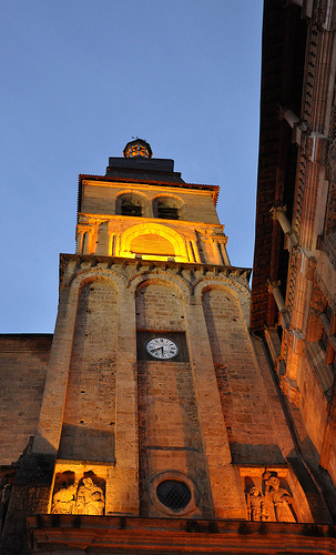 Church Tower in Sarlat