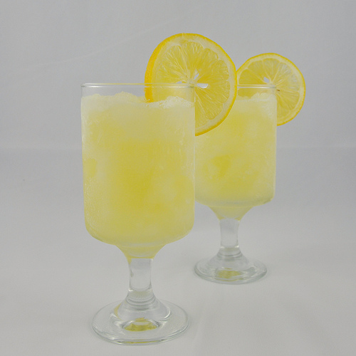Lemon Granita Cocktail
