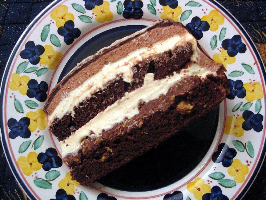 Torta Settevelli cake recipe