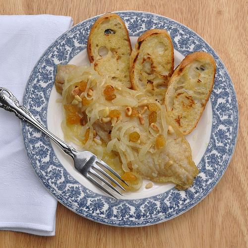 Sfogi in Saor - Venetian Style Sole in Agrodolce Sauce - Food Lover's ...