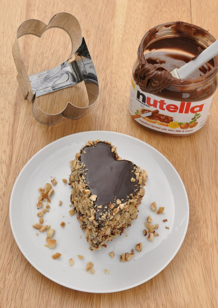 Nutella Cake Recipe