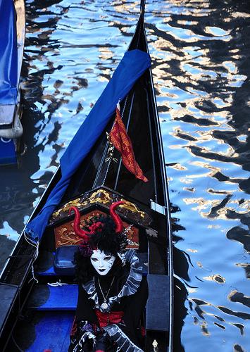 Carnival Posers in Venice
