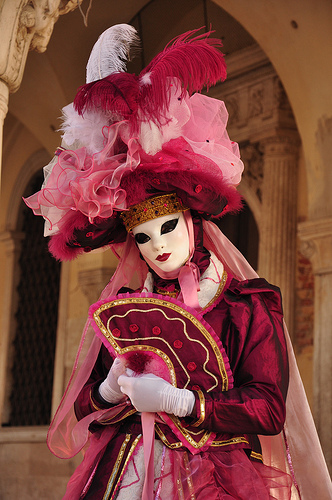 Venice Carnival costume 5