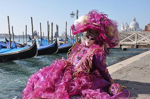 Carnival Costumes and Gondolas