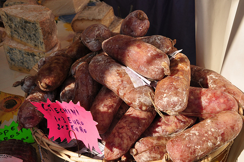 Sausage from Piedmont Italy