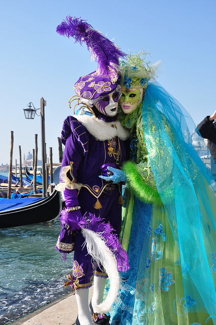 Carnival in Venice 2011 Costumes and masks