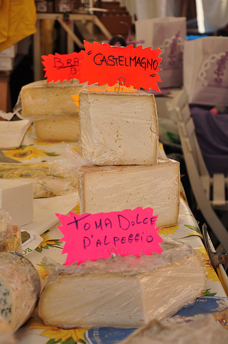 Cheese from Piedmont Italy