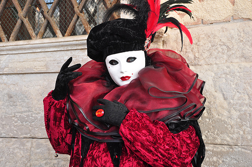 Costumes of Carnival in Venice