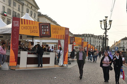 Chocolate Booths at Cioccolato