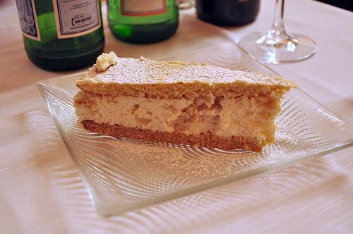 Ricotta e Pera dessert from Naples Italy