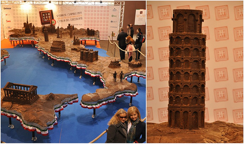Italy Carved in Chocolate at Cioccolato