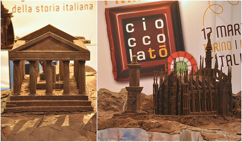 Italy's Monuments in Chocolate