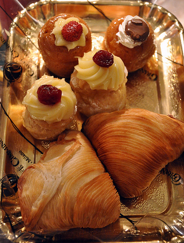 Pastries from Naples Italy