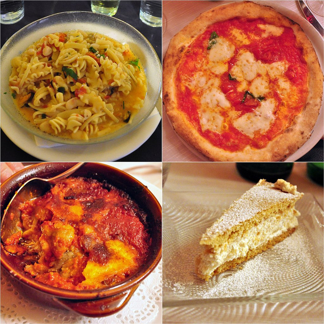 Food in Naples