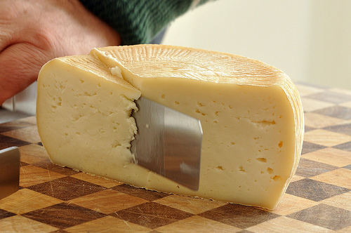Making Cheese in Italy