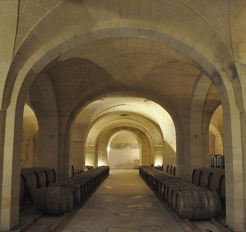 Wine Cellar at L'Astore Masseria