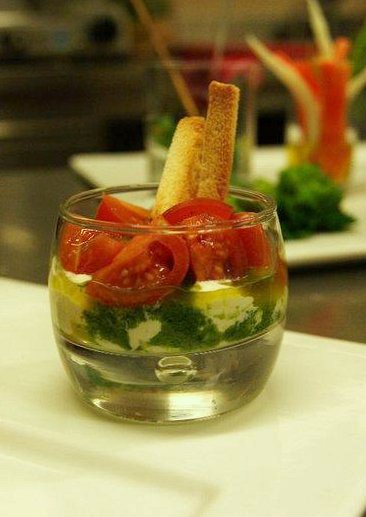 Dressed up Caprese Salad