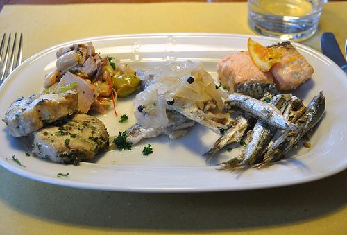 Seafood Antipasti in Venice
