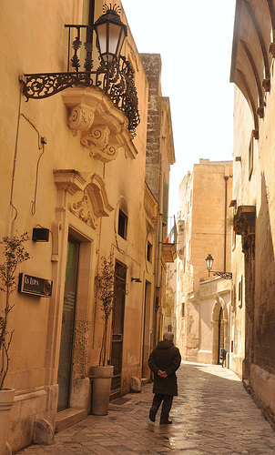 Alleyway in Lecce