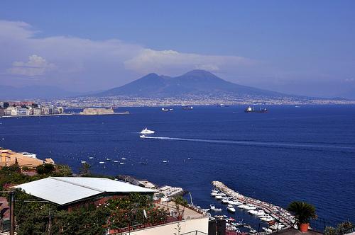 Bay of Naples and Mount Vesuvius