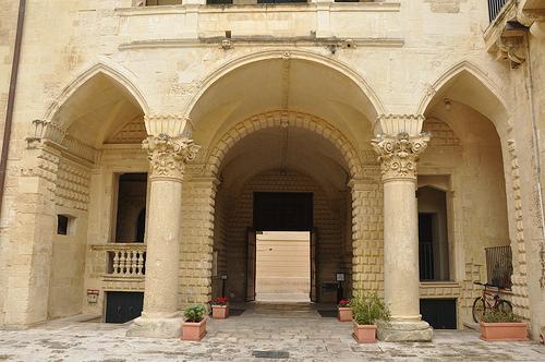 Lecce Courtyard