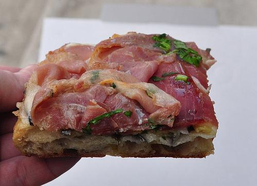 Bonci pizza al tagio