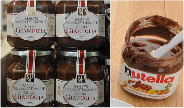 Crema di Gianduja and Nutella