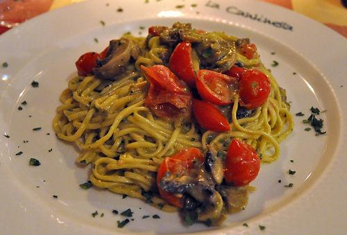 Spaghetti with Pistacchio Pesto