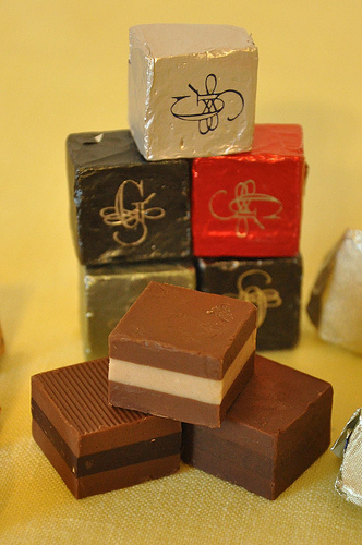 Cremini Chocolates from Guido Gobino in Turin