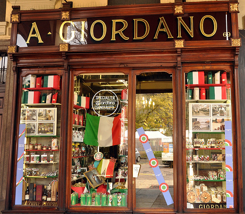 A Giordano Chocolatier in Turin