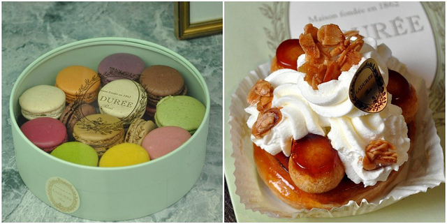 Macarons and St. Honore from LaDuree
