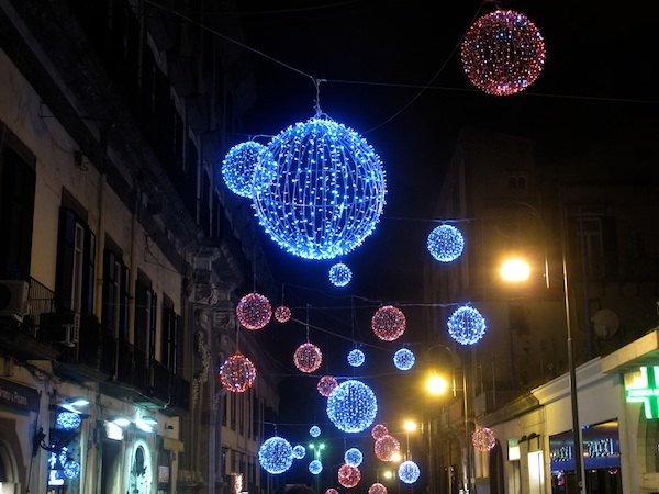 christmas lights in naples italy - Italian Christmas Traditions