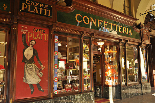 Cafe Platti in Turin