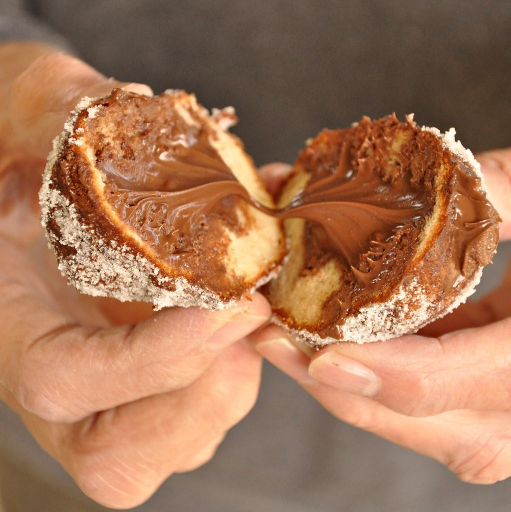 Venice Carnival Nutella Filled Fritters