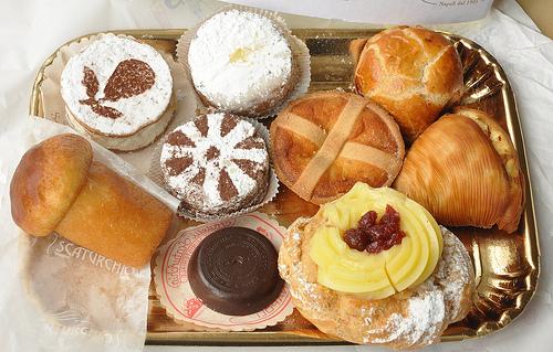 Pastries in Napoli