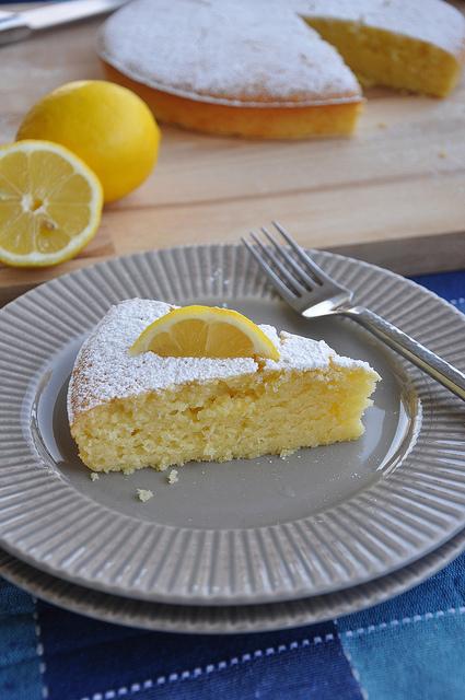 lemon olive oil cake Puglia recipe