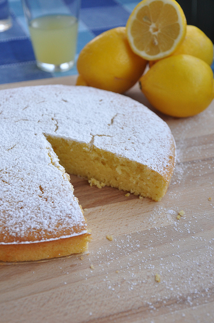 lemon and olive oil cake recipe